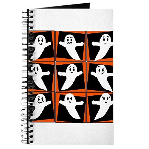 Ghosts For Halloween - Spiralgebundenes Tagebuch, persönliches Tagebuch, blanko ()