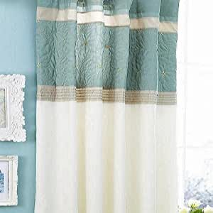 Catherine Lansfield Lois Duck Egg Curtains