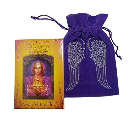 hayhouse-publications-unisex-child-ascended-master-deck-velvet-angel-wing-tarot-bag-purse-multicolou