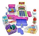 Caja registradora de juguete para niños - Rosa