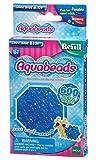 Aquabeads 32708 - Glitzerperlen, blau, Bastelperlen nachfüllen