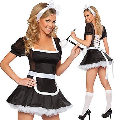WEII Deutsch Oktoberfest Kleidung Maid Wear Restaurant Overalls Maid ()