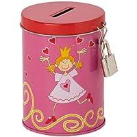 Sigikid 23473 - Hucha con diseño de princesa, color rosa
