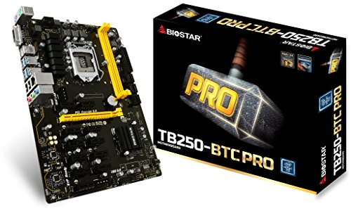 Biostar tb250-btc Pro Mainboard Intel Sockel LGA 1151(Socket H4) (Biostar Socket)
