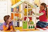 Hape E3401 - Vierjahreszeitenhaus, möbiliert -