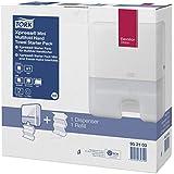Tork 952100 Starter Pack pour papier essuie-mains multifold C&C - Mini Xpress H2 - Design Elevation - Blanc