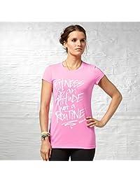 Reebok t-shirt pour femme gT fTS aTTITUDE