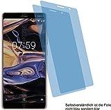 2x Crystal clear klar Schutzfolie für Nokia 7 plus Displayschutzfolie Bildschirmschutzfolie Schutzhülle Displayschutz Displayfolie Folie