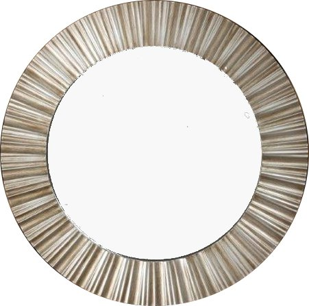 champagne-sunbeam-round-ribbed-wall-mirror-50cm