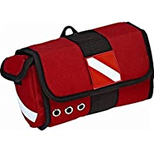 Innovative Dive Flag Mask Bag–Red by innovative Scuba concetti