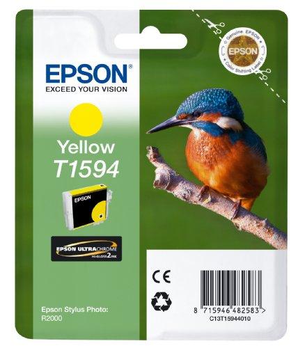 Preisvergleich Produktbild Epson T1594 Tintenpatrone Eisvogel, Singlepack, gelb