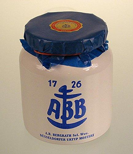 Düsseldorfer ABB-Senf - Das Original im Steinkrug, mittelscharf, 600 ml Senf