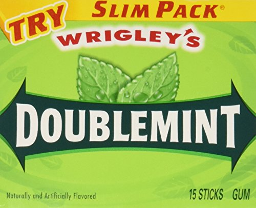 wrigleys-doublemint-chewing-gum-10-fifteen-sticks-packages-150-sticks-total-by-n-a