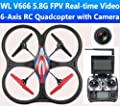 SIVA SivaMT999 2.4 GHz Sky Agent Quadcopter Pro FPV Toy by Siva