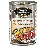Raynal et Roquelaure canard sauté aux carottes et petits pois 1/2 400g (Prix Par Unité) Envoi Rapide Et Soignée