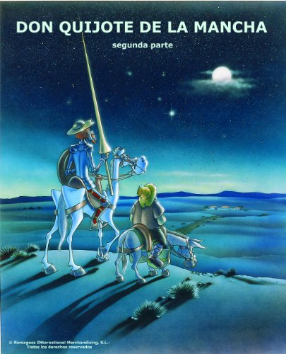 DON QUIJOTE DE LA MANCHA - II   Comic Book por S.L. Romagosa International Merchandising