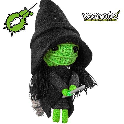 Witch Oz Von Der Zauberer Wicked (Voomates String Doll Voodoo-Puppen - handgemachte Sorgen-Püppchen Fingerpuppen - Die Handpuppen mit 81 Modelle - Wicked Witch (Hexe von der Zauberer von)