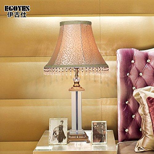 Kupfer Nachttischlampe continental high-end Wohnzimmer Schaltschrankleuchte einfache Studie Nachttischlampe Schlafzimmer Esszimmer Tisch Lampe, 390*680mm