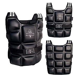 Athletics Gear verstellbar, gewichtet Jacke Weste für Training Running Fitness & Gewicht Verlust