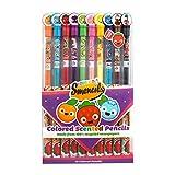 Scentco 10pcs Smencils couleur de Gourmet parfumée de crayons de couleur