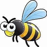 U24 Aufkleber lustige Wespe Biene Autoaufkleber Sticker
