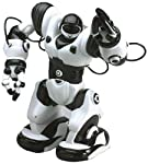 """This is a cute black and white replica of the original WowWee Robosapien. The only difference is that it is just half the original size and stands at 7"""" tall. Other than that it has all the features of the original. Robot toys are quite popular w..."""