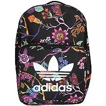 Mochila Adidas Floral para Chica, Mujer, de Nina. Bolsa Escolar.