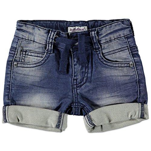 Babyface Jungen Jogg Jeans Shorts blue denim 7107215 (68-6, blau) (Baby-jeans-shorts)
