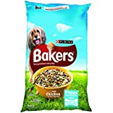Bakers Complete Dog Food Puppy/Junior Tender Meaty Chunks Chicken, 12.5 kg
