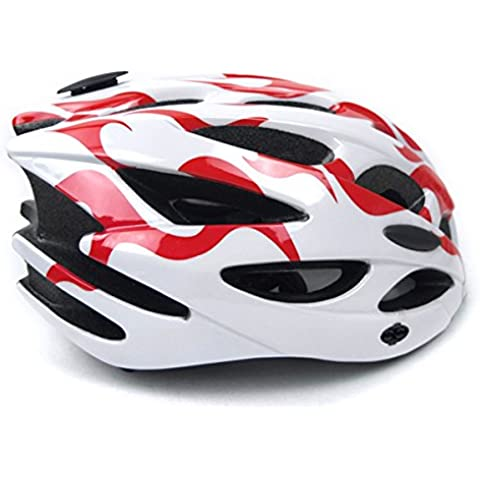 TKWMDZH® Casco Ciclismo de carretera de montaña neutro adecuado para hombres y mujeres 52 ~ cefálico de 62cm