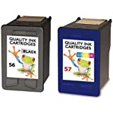 Refilled HP 56 & 57 Psc 1315 1317 Refilled Ink Cartridges