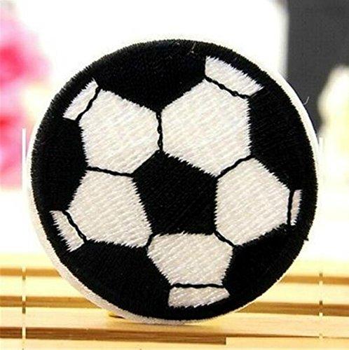 Monbedos - Parche bordado diseño fútbol fantasía