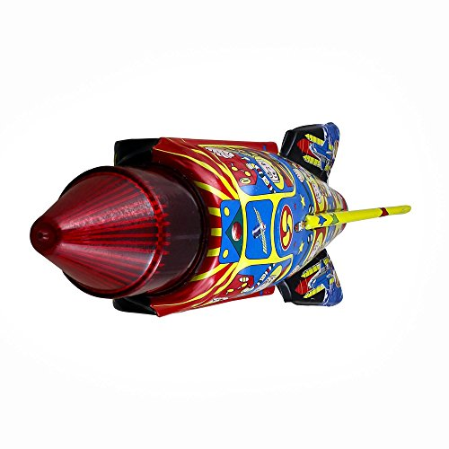 Antiguos juguetes de hojalata de colección Space Rocket