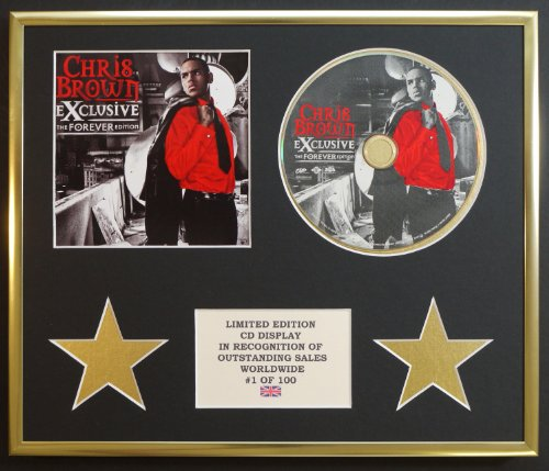 CHRIS BROWN/CD-Darstellung/Limitierte Edition/EXCLUSIVE