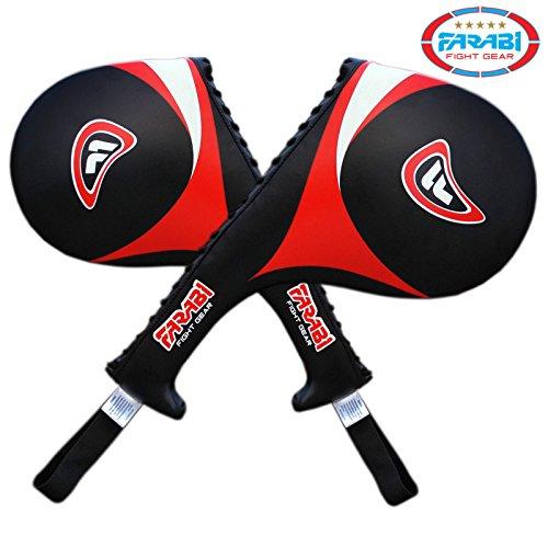 51fG1XSq1xL. SS500  - Farabi Taekwondo Racket Hand Karate Kick Boxing Strike Pad Martial Art X 1 UNIT