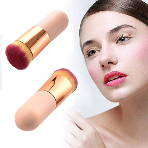 Tianya Filtre Brosse Cosmétique visage Brosse de Maquillage Poudre Brosse Blush brosses Outil de fond de teint, rose, Taille unique