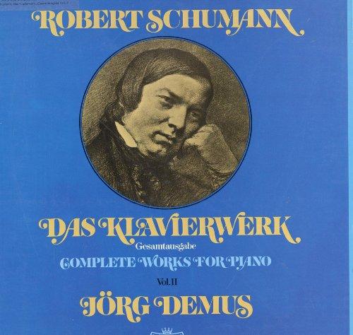 Schumann: Das Klavierwerk (Gesamtausgabe, Vol. II) [Vinyl Schallplattem] [10 LP Box-Set] mit Begleitheft