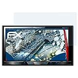 atFoliX Panzerfolie für Pioneer AVH-X5700DAB/X5800DAB Folie - 2 x FX-Shock-Clear stoßabsorbierende ultraklare Displayschutzfolie