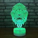 HNXDP Heißer Verkauf Kreative Led 3d Nachtlicht Kinder Beleuchtung Spielzeug Nacht Fernbedienung Touch switch Weiß basis Schöne 7 farbwechsel 3D Lampe