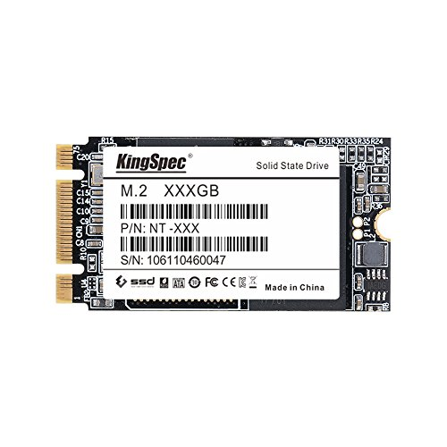 Kezoll SSD, 128 GB KingSpec 64 g, 256 g 512 g MLC M.2 NGFF Solid State Drive dispositivi per Ultrabook con Cache 64GB 22*42mm