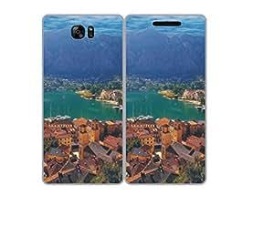 Techno Gadgets Flip Cover for Samsung Galaxy S7 Edge