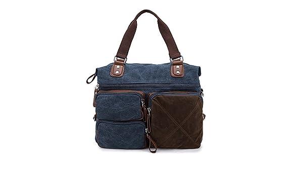 Jxth Lightweight Gym Sports Overnight Holdall Canvas Travel Bag, Canvas Bag,  Shoulder Bag, Leisure Travel Bag, College Handbag Retro Men s Bag. b98223dfd9