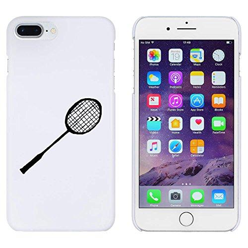 Azeeda Weiß 'Badminton Schläger' Hülle für iPhone 7 Plus (MC00122404)