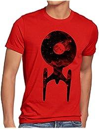 style3 Trek Raumschiff T-Shirt Herren trekkie star