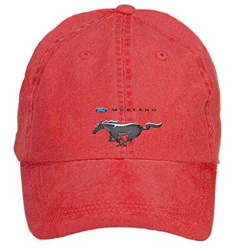 Youaini ciyanccapp Unisex Ford Mustang Logo Baseball Caps Velcro Adjustable -