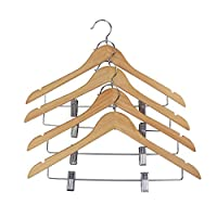 Proman Products Hanger with Notches, Clip, Natural