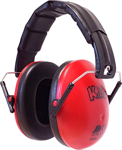 Edz Kidz Kinder Gehörschutz Kapselgehörschutz (rot)