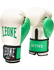 Leone 1947 Active Lady Guantes de boxeo Blanco blanco Talla:Medium