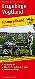 Erzgebirge - Vogtland: Motorradkarte mit Ausflugszielen, Einkehr- & Freizeittipps und Tourenvorschlägen, wetterfest, reissfest, abwischbar. 1:200000 (Motorradkarte / MK) -