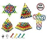 Brigamo magnetica gioco Mechanics, Magnetica gioco Set 124pezzi, Magnetica giocattolo